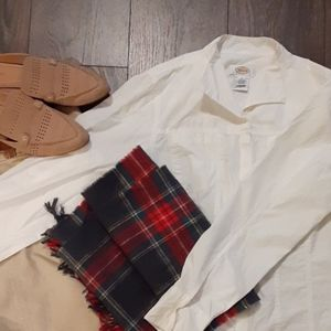 Talbots cotton fitted blouse 0126